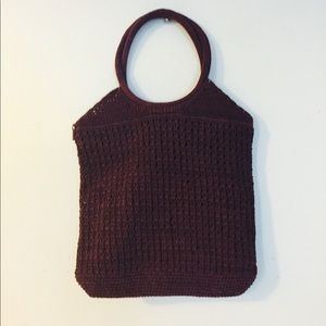 Perfect Beach Crocheted Bag NWOT